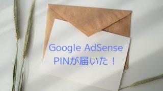 Google-AdSense-から-PINが届いた!